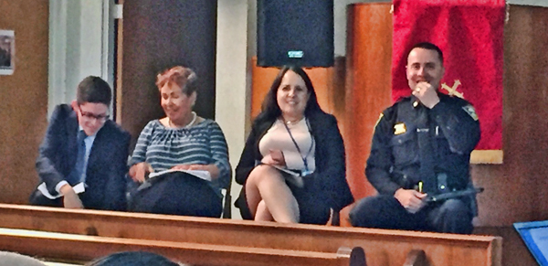 Panelists at Rep DeSaulnier's Immigration Town Hall
