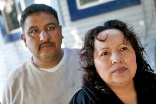 Rally to Stop the Deportation of Maria and Eusebio Sanchez